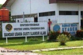 Perluasan terminal Bandara Gusti Syamsir Alam dilanjutkan