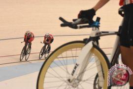 Indonesia gagal rebut medali di tiga nomor balap sepeda