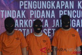 Polisi tangkap dua kurir , dan seorang pengedar narkotika di Denpasar-Bali