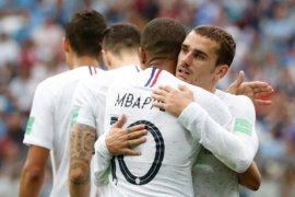 Prancis kalahkan Uruguay 2-0 di perempat final Piala Dunia
