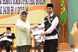 Bupati Bogor melepas 404 jamaah calon haji