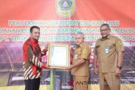ULP B-J Bogor meraih sertifikat ISO 9001-2015