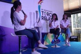 Dian Sastro-Mikha siap bawa obor Asian Games
