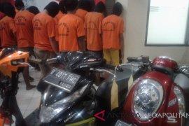 23 pelaku kriminalitas jalanan Bekasi ditangkap