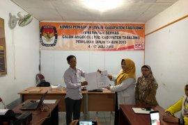 KPU Tanah Bumbu tetapkan 379   Bacalaeg sementara