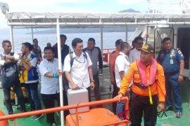 Kapal cepat angkut pegawai BPJN Ambon tenggelam