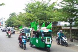 PPP Banjarmasin kendarai  Bajaj daftarkan Bacaleg