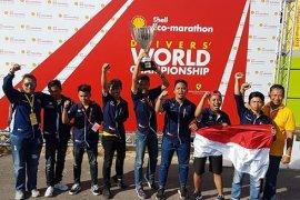 "Tim ""Sapuangin"" ITS Surabaya juarai DWC di London"