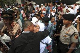 Keberangkatan jamaah calon Haji