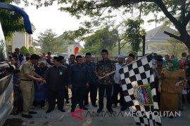 Ketua DPRD melepas 410 jemaah calon haji Bekasi (Video)