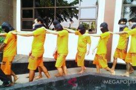 13 pengedar narkoba ditangkap di Karawang