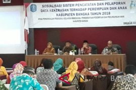 Pemkab Bangka sosialisasi pencegahan kekerasan terhadap perempuan dan anak