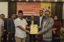 Penetapan Walikota kota Bandung
