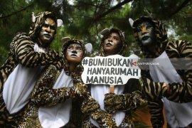 Peringatan Hari Harimau di Malang