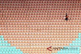 Persiapan stadion Pakansari sebagai Venue Asian Games