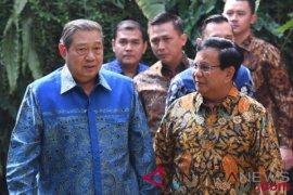 Prabowo tegaskan SBY tidak menuntut posisi cawapres