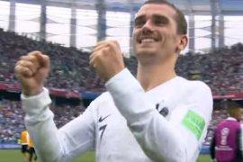 Prancis lolos  ke semifinal setelah kalahkan Uruguay 2-0