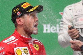 Klasemen F1: Vettel teratas, Hamilton kedua