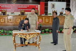 Dewan setujui LKPJ Sanggau tahun 2017