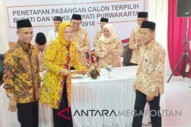 KPU Purwakarta Tetapkan Bupati-Wabup Purwakarta Terpilih