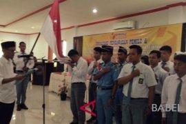 Panwaslu Bangka Selatan kukuhkan 100 agen pengawas pemilu