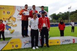 Tim ASG Indonesia raih emas pertama lompat jauh