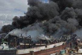 Kapal terbakar di Benoa mayoritas kapal pasif