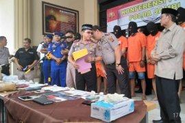 Polisi sita sabu-sabu senilai puluhan juta rupiah
