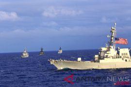 Kapal perang AS kembali melintas di Selat Taiwan untuk kedua kalinya