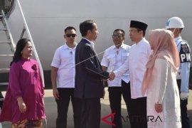 Presiden Jokowi tinjau penanganan gempa Lombok