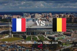 Prancis siap hadapi taktik kejutan Belgia