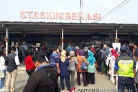 KCI siagakan petugas di Bekasi pascapembaruan tiket