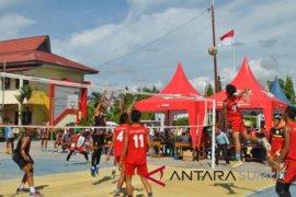 Putra Deliserdang vs Tebingtinggi di Semifinal voli Popdasu