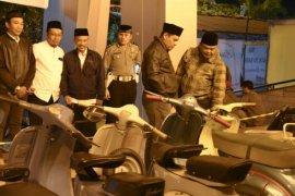 """Wali Kota Abdullah Abu Bakar Buka """"Kediri Scooter Festival"""" 2018"""