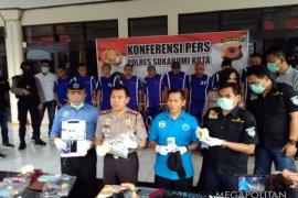 26 pengedar narkoba ditangkap Polres Sukabumi Kota