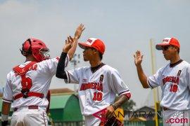 Bisbol Indonesia catatkan kemenangan perdana lawan Thailand