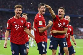 Liga Champions - Muenchen ke fase gugur setelah bekuk Benfica 5-1