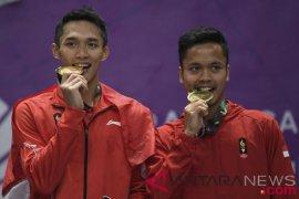 Bulutangkis Medali Emas Dan Perunggu Indonesia