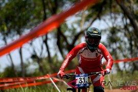 Indonesia amankan dua medali emas balap sepeda downhill