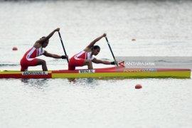 Asian Games - Indonesia Raih Perunggu Kano 500M Ganda Putri