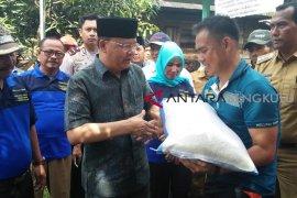 Gubernur Bengkulu serahkan bantuan kepada korban kebakaran