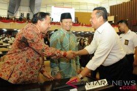 Pimpinan MPR gelar gladi bersih persiapan Sidang Tahunan MPR