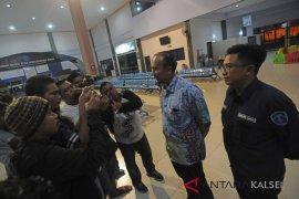 DLU berikan santunan penumpang KM Satya Kencana IX yang terbakar