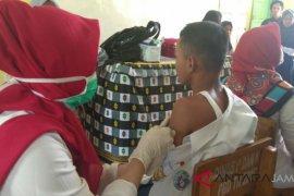 Realisasi Imunisasi MR Batanghari 76,27 persen