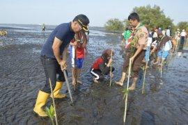 Perhutani Tanam Seribu Mangrove Pesisir Kota Probolinggo