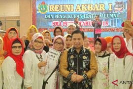 Ribuan alumni hadiri reuni akbar SMA PGRI 4 Banjarmasin