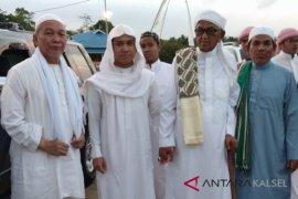 Chairansyah bersama KH Mukhtar sambut hangat Syech Asal
