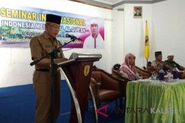 Syech Asal menjadi pembicara seminar Internasional di Barabai