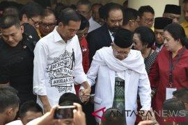 Jokowi -Maruf Amin Di Gedong Joang