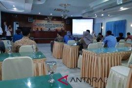 KPU Bangka gelar rapat pleno DPT pileg 2019